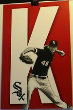 "Chicago White Sox Chris Sale K-Zone 11 x 17"" Sign Poster SGA Black Jersey"