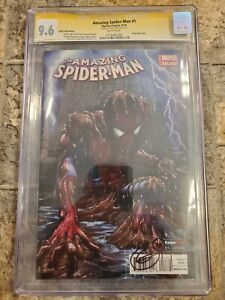Amazing Spider-Man #1 (2014) Greg Horn Signed Game Stop Edition CGC 9.6