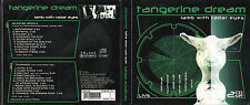 Tangerine Dream 2 CD's  LAMB WITH RADAR EYES  ( DIGIPACK )