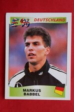 Panini EURO 96 N. 201 BABBEL DEUTSCHLAND New With RED back TOPMINT!!