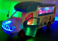 FAST FOOD VAN CAR BUMP AND GO DOORS OPEN TOY LED LIGHTS MUSIC GIRLS BOYS TOYS