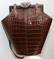 Glen Miller for Ann Turk Brown Leather Purse Bag