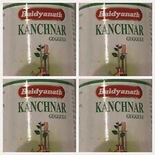 4 X 80 Kanchnar Guggulu For Thyroid & Cysts Baidyanath