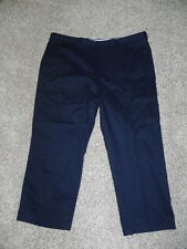 Architect Pants Iron Free Mens Big & Tall 48 X 30 Classic Fit Navy NWT $55