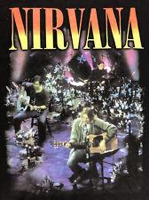Nirvana Kurt Cobain T Shirt Mens Size 5XL Black Short Sleeve Grunge Rock Tee
