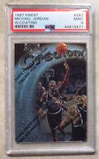 1997-98 Topps Finest Michael Jordan Creators #287 W/Coating PSA 9
