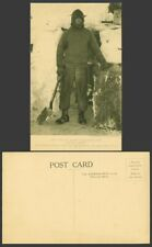 More details for capt scott antarctic south pole expedition captain oates with spade old postcard