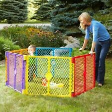 North States Industries Superyard Play Yard Colorplay 6 Panel