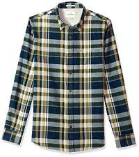 Lucky Brand Men's Casual Long Sleeve Plaid Ballona Button Down Shirt in Multi...