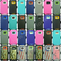 For Samsung Galaxy (S7) Case Cover w/ (Belt Clip Fits OtterBox Defender series)