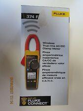Fluke 374 FC Wireless True-RMS AC/DC Clamp Meter New