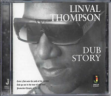 LINVALL THOMPSON  DUB STORY NEW CD £9.99