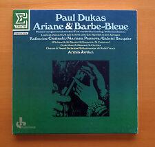 NUM 750693 Paul Dukas Ariane & Barbe-Bleue Armin Jordan ERATO 2xLP Box Set NM/EX