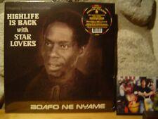 STAR LOVERS Boafo Ne Nyame LP/1987 Ghana/Rare Afrobeat/Highlife/K. Frimpong