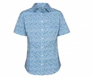 LAST ONE! RM Williams Ladies Stockyard Crystal Brook Button Up Shirt rrp $69