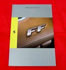 Ferrari FF w'4WD - RARE Owners Handbook Condensed Version - 2011 UK/English Text