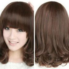 """15"""" Women Heat Resistant Long Curly Wig Synthetic Hair Cosplay Costume Full Wigs"""