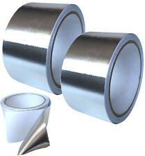 2 Rollen Aluminium Fix Band Klebeband Isolierung Dampfsperre Alu