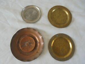 job lot vintage metalware items brass etc