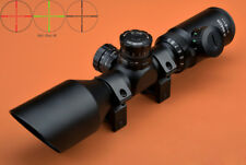 Riflescope 3-9x42 R/G Compact Angled Objective Long Eye Relief Rifle Scope