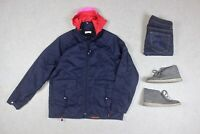Folk - Rain Coat Jacket - Navy Blue - 4/Large