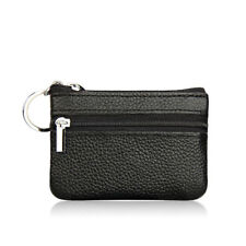 Women Ladies Leather Small Mini Wallet Bag Coin Purse Card Holder Zip Clutch