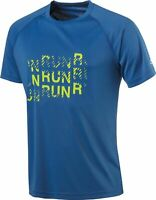 Pro Touch Herren LAuf Fitness Funktions-Shirt Bonito II blau-gelb