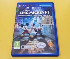 Disney Epic Mickey 2 L'Avventura di Topolino e Oswald GIOCO PS VITA VERSIONE ITA