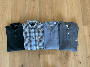 Brooks Brothers 7 Diamonds Mens Lot Of 4 Polo Shirts Size Large/Medium