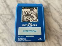 Elvis Presley The Elvis Tapes 8-Track Tape 1977 8361-1001 L Interview Tapes RARE