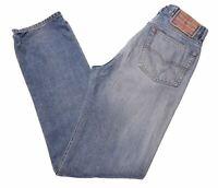 DIESEL Womens Jeans W30 L33 Blue Cotton Slim  IE11