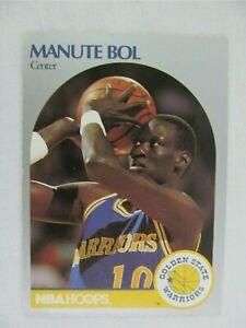 Manute Bol Golden State Warriors 1990 NBA Hoops Basketball Card 112