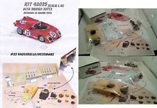 kit Alfa Romeo 33 TT3 M #33 Sebring 1972 - Modelling Plus kit 1/43