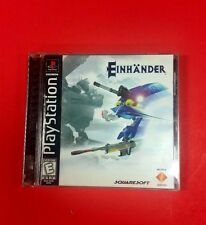 Einhander Complete (Sony PlayStation 1, 1998) RARE Free Shipping
