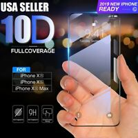 10D Curve For iPhone X XS MAX XR 8 8+ Full Cover Tempered Glass Screen Protector