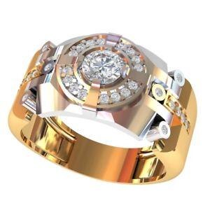 5 pcs Men's Ring  Wax patterns for lost wax casting jewelry km-1781