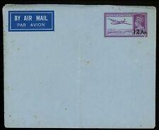 Postal Stationery H&G #FB4 India airmail envelope 1947 Vintage