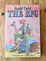 SIGNED EDITION of THE BFG. 1ST /  8TH PRINT. ROALD DAHL. QUENTIN BLAKE (MATILDA)