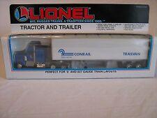 1990 Lionel 6-12778 Lionel Conrail Trailvan Tractor & Trailer