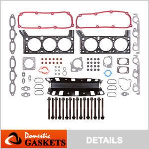 Fits 04-10 Chrysler Town Country Dodge Grand Caravan 3.8L Head Gasket Set Bolts