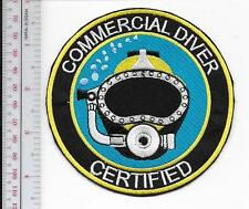 SCUBA Hard Hat Diving Commercial & Salvage Certified Diver Qualification Patch
