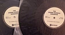 RADIO SHOW: DIONNE WARWICK SONGBOOK 8/6/90 2 LPs/90 MIN/18 GREAT SONGS
