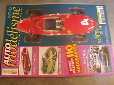 $$m Revue Auto modélisme N°142 Alpine A 310 V6  Delahaye 135 Ixo  Ferrari 156 F1