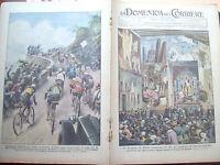 185) 1933 CICLISMO GIRO D'ITALIA E TRIENNALE DI MILANO DOMENICA DEL CORRIERE