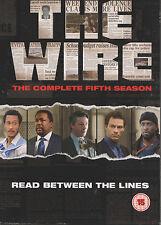 THE WIRE - Series 5. Dominic West, Idris Elba, Lance Reddick (4xDVD BOX SET '08)