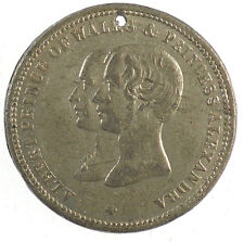 1863 Gt. Britain, Denmark MARRIAGE OF THE PRINCE OF WALES AND PRINCESS ALEXANDRA