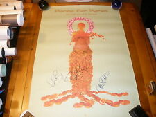 """PORNO FOR PYROS JANES ADDICTION 24X36"""" PROMO POSTER SIGNED AUTOGRAPHED #2"""