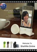 NEW High Quality Creative Gift Horn Speaker Amplifier  for Apple iPhone 4 4S 5