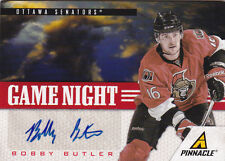 11-12 Pinnacle Bobby Butler Auto Game Night Autograph