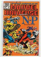 The Official Handbook of the Marvel Universe #8 N-P 9.4